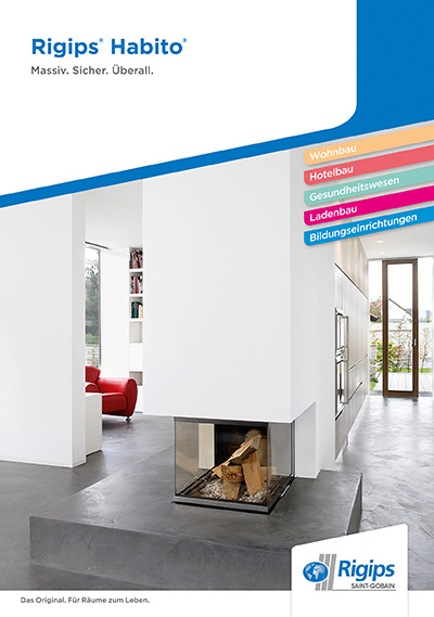rigips habito in allen segmenten einsetzbar. Black Bedroom Furniture Sets. Home Design Ideas