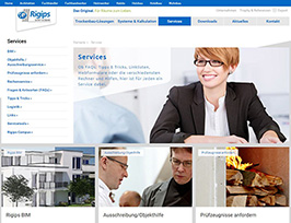 Rigips Online-Services
