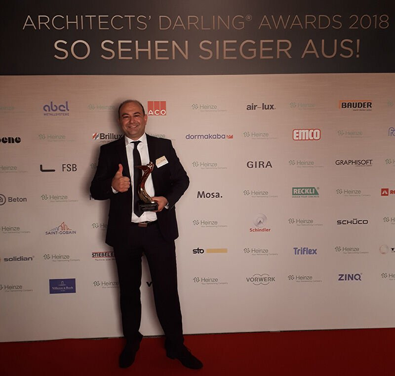 Saint-Gobain gewinnt Architects Darling Jury Award, Zeki Harmanci