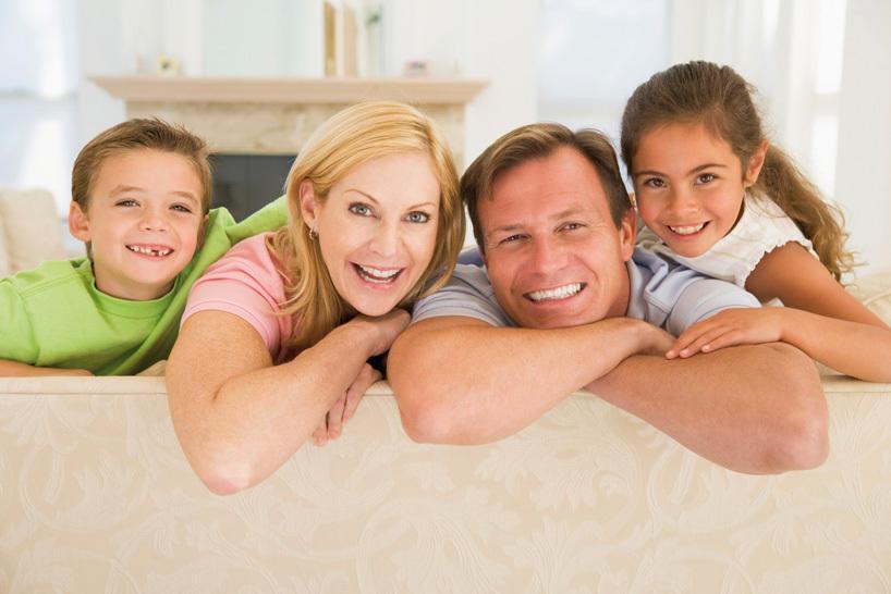 Bauherrenfamilie